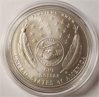 LEWIS & CLARK BICENTENNIAL SILVER DOLLAR (153)