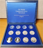 STERLING SILVER PROOF MEDALS 1978 (FRANKLIN MINT)