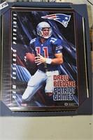 """Drew Bledsoe framed art approximately 16""""x20"""""""
