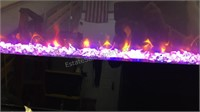 Electric Wall Fire Place w/Mounting Bracket &