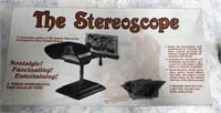 34 - VINTAGE STEREOSCOPE IN THE BOX