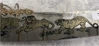 34 - STUNNING SWORD W/DRAGON & LIONS DEFENDER