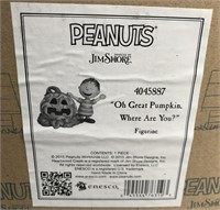 34 - LOT OF 2 PEANUTS FIGURINES W/ BOXES