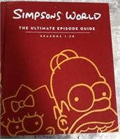 34 - THE SIMPSONS ULTIMATE EPISODE GUIDE BOOK