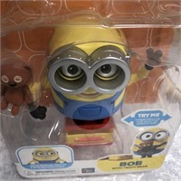 34 - LOT OF 2 MINIONS TOYS IN BOXES