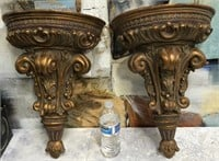 34 - LOT OF 2 BEAUTIFUL WALL SCONCES