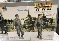 34 - LOT OF 2 BOX SETS OF WWII ACTION FIGURES
