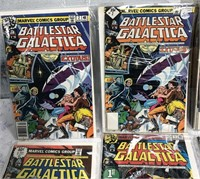 34 - LOT OF BATTLESTAR GALACTICA COMIC BOOKS (1)