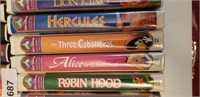 25 COLLECTOR DISNEY VHS MOVIES, INCL LTD EDITIONS!