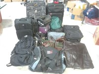 Assorted Luggage Bags