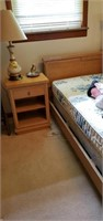 5 piece bedroom suit includes full size bed,