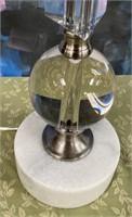 43 - NEW WMC BEAUTIFUL TABLE LAMP ($129.95)