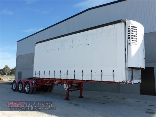 2007 Barker Refrigerated Curtainsider Trailer - Trailers for Sale