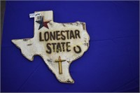 "Lone Star State wall decor approximately  18""x18"""