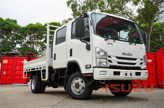 2016 Isuzu NPS 300 4x4 Used Isuzu Trucks - Trucks for Sale