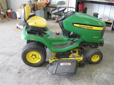 John Deere X324 For Sale 34 Listings Tractorhouse Com Page 1 Of 2