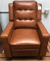 C - NEW BROWN ABBYSON LIVING CHAIR (B)