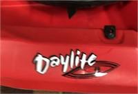 C - NEW RED DAYLITE SIT ON TOP KAYAK