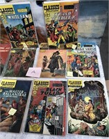 LOT OF CLASSICS ILLISTRATED MAGAZINES (A)