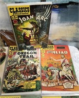 LOT OF CLASSIC ILLUSTRATED MAGAZINES - SEE PICS(C)