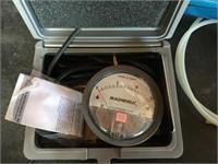 Magnehelic Pressure Gauge & Inline Pneumatic Air