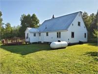 Oma, WI Real Estate Auction House on 9.8 Acres--$45K Minimum