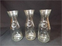 """Clear Glass Embossed Bottles, """"Since 1852"""""""
