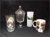 Glassware with Decorations (4)