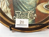 Pepsi Oval Tin Tray