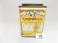 Atlas Food Color Tin