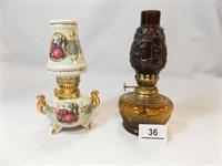 Oil Lamps- made in Japan, Hong Kong (2)