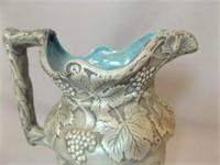 Ceramic Pitcher, Labeled YB '69