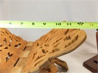 Wood Trunk, Stand, Holder (3)