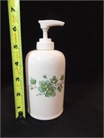 Ivy Teapot, Jar, Soap Dispenser (3)