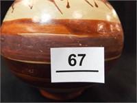 """Mexican Folk Art Pitcher, 9"""""""