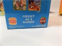 Burger King Disney Collector Glasses (6)