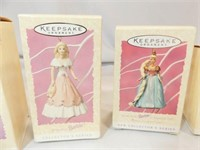 Hallmark Collector Ornaments (6) 1990's