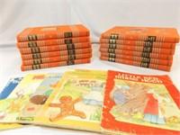 1940's Childcraft Book Set (12), Books (5)