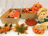 Fall, Halloween Décor - Tub