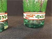 Holiday/Christmas Coca Cola Glasses, Mug