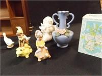 Musical Miniature Display, Figurines