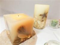 Candles, Holders, Jute - 1 Box