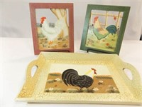 Chicken Pictures (2), Tray