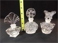 Crystal 24% Perfume Bottles, Avon Bottle