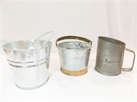 Tin Pails (2), Bromwell's Sifter