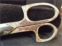 Vintage Ever Sharp Sewing Scissors