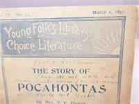 1897 School Reader, Story of Pocahontas