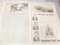 Kingfisher Free Press Anniv., 4/13/64