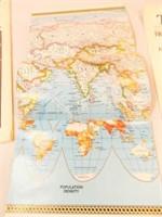 1995 Map, 1971 Post Replica, 1922 Copy