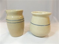 "Red River Pottery Crock, 6"" Crock"